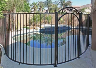 Pedestrian Pool Gate