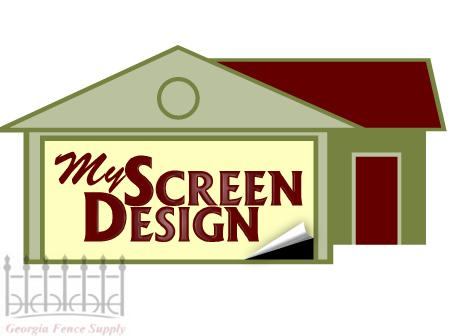 My Screen Design Garage Door Screens